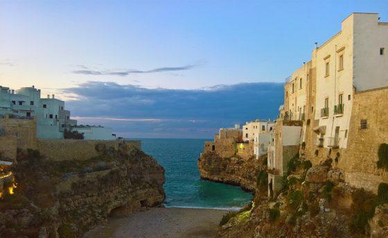イタリアの海