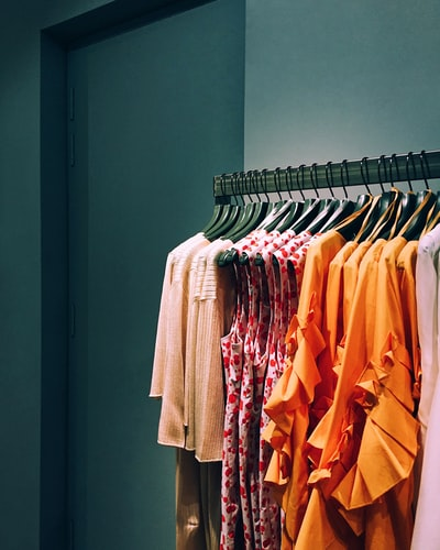 服の店、洋服